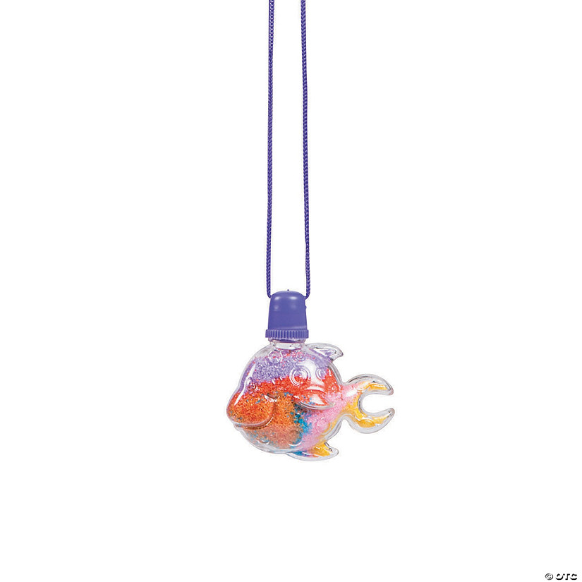 Tropical Fish Sand Art Bottle Necklaces Audio Thumbnail