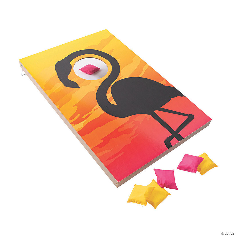 Tropical Paradise Bean Bag Toss Game Image Thumbnail