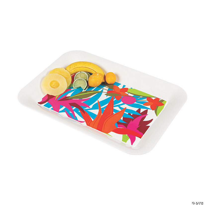 Tropical Plastic Serving Tray Audio Thumbnail