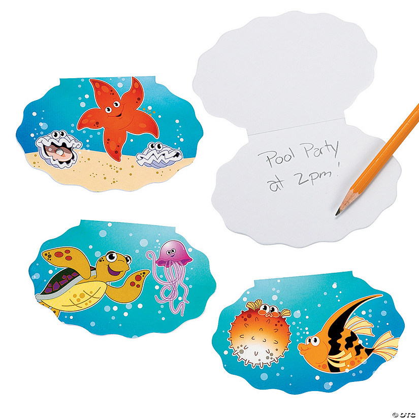 Tropical Sea Life Notepads