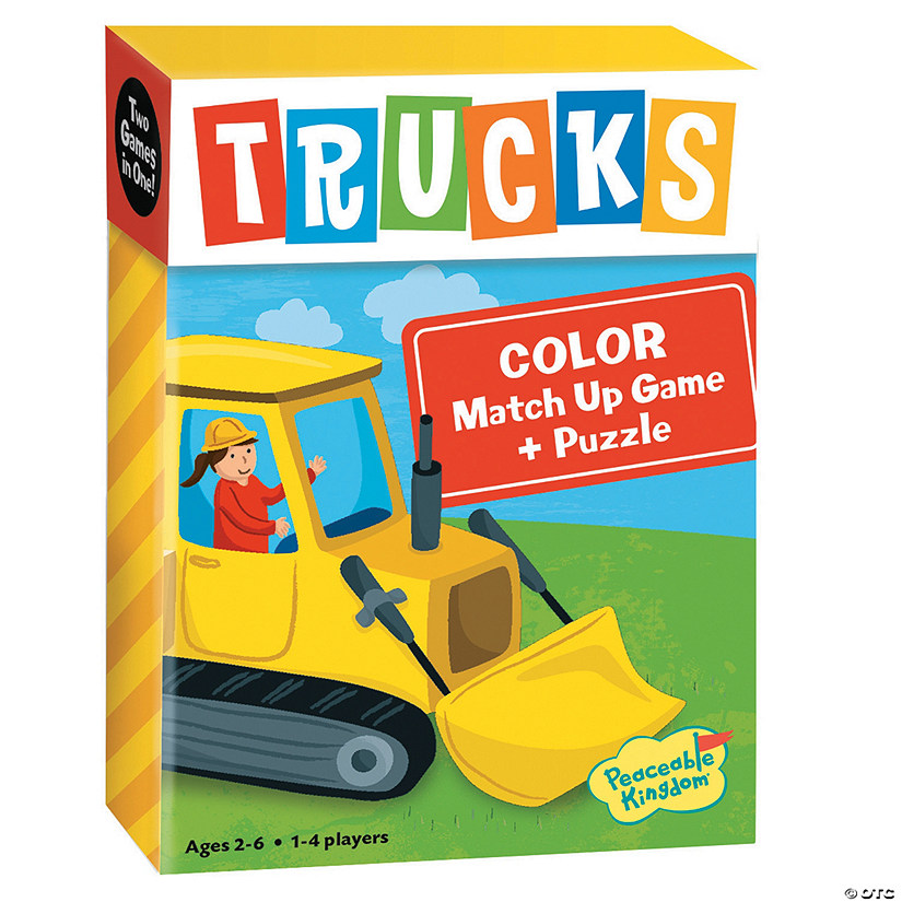Trucks Color Match Up Game Image Thumbnail
