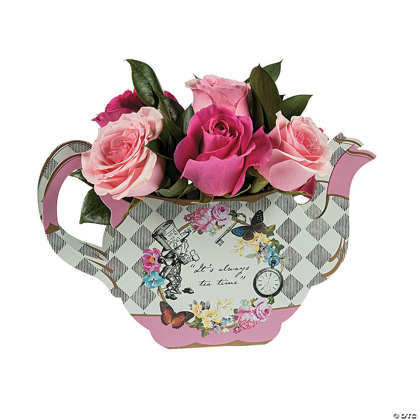 Truly Alice Teapot Vase Tabletop Decoration