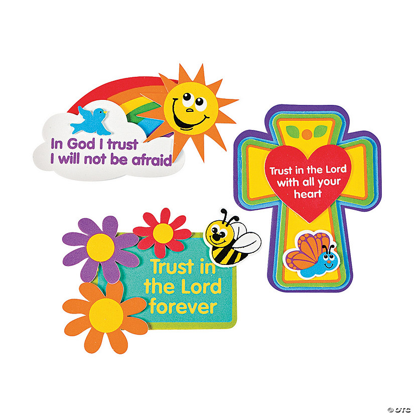 """Trust in the Lord"" Magnet Craft Kit Image Thumbnail"