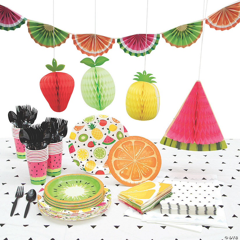 Tutti Frutti Party Kit for 24 Audio Thumbnail