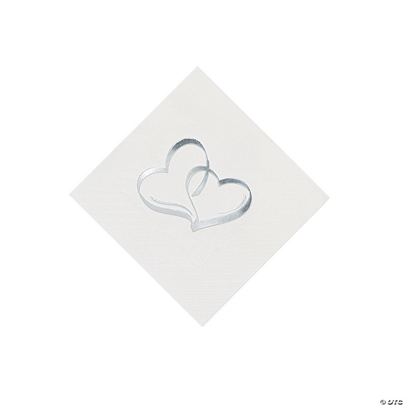 Two Hearts Cocktail Napkins Audio Thumbnail