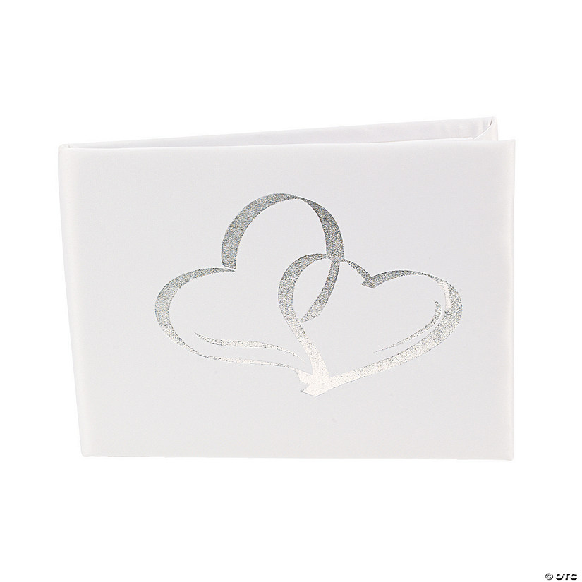 Two Hearts Wedding Guest Book