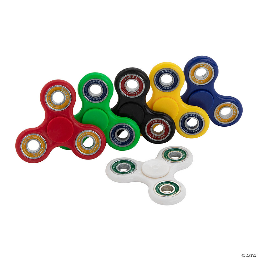 Two-Tone Color Fidget Spinners - Case Image Thumbnail