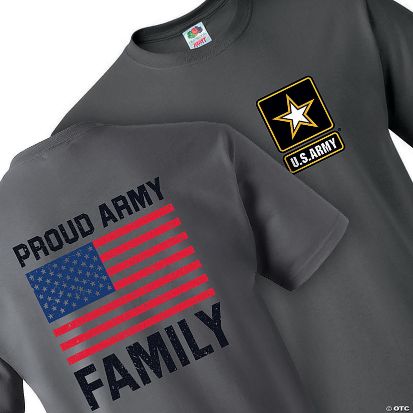 U.S. Army<sup>&#174;</sup> Proud Family Adult&#39;s T-Shirt Image Thumbnail