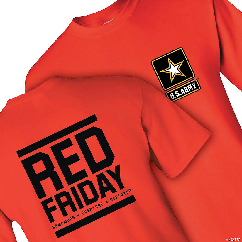 U.S. Army<sup>&#174;</sup> Red Friday Adult&#39;s T-Shirt Image Thumbnail