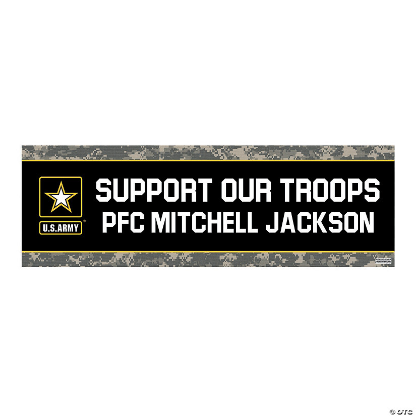 U.S. Army<sup>&#174;</sup> Support Our Troops Custom Banners Audio Thumbnail
