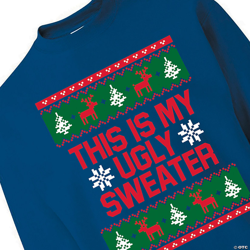 Ugly Sweater Adult's Sweatshirt Audio Thumbnail