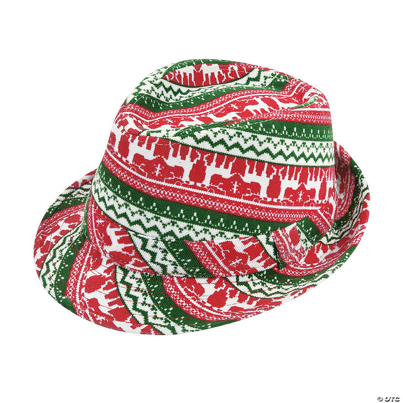 Ugly Sweater Fedora Hat