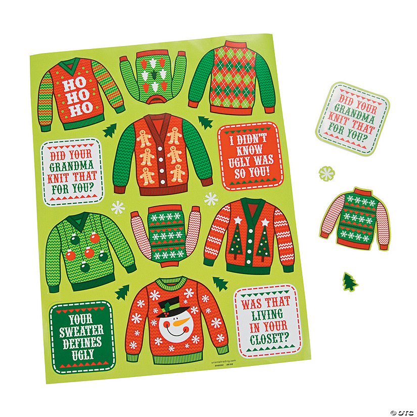 Ugly Sweater Stickers