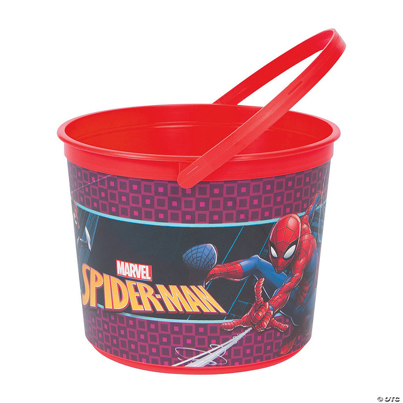 Ultimate Spider-Man™ Plastic Favor Container Audio Thumbnail