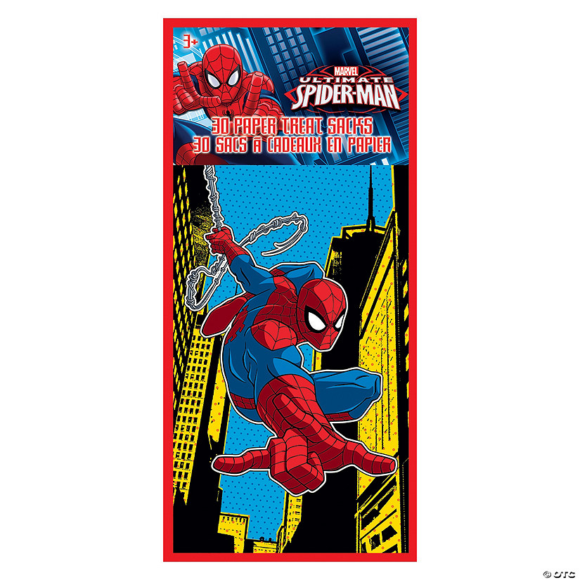 Ultimate Spider-Man™ Valentine Paper Treat Bags Audio Thumbnail