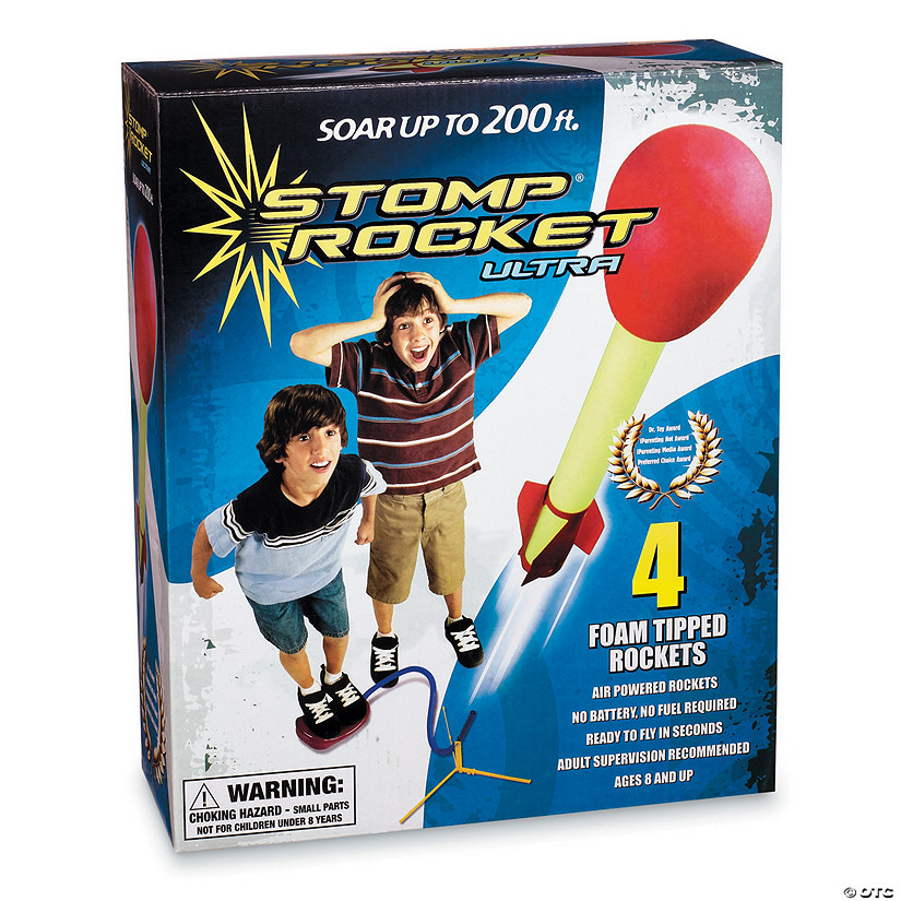 Ultra Stomp Rocket with Refills