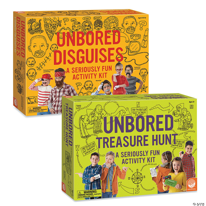 UNBORED Activity Kits: Set of 2