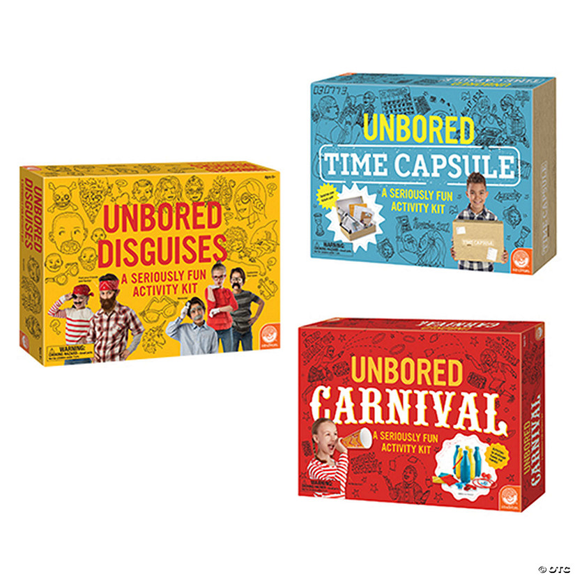 Unbored Activity Kits: Set of 3 Image Thumbnail