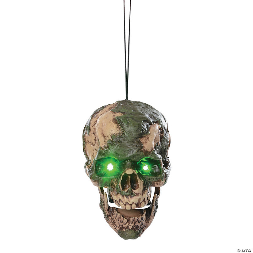 Undead Fred Hanging Head Halloween Décor