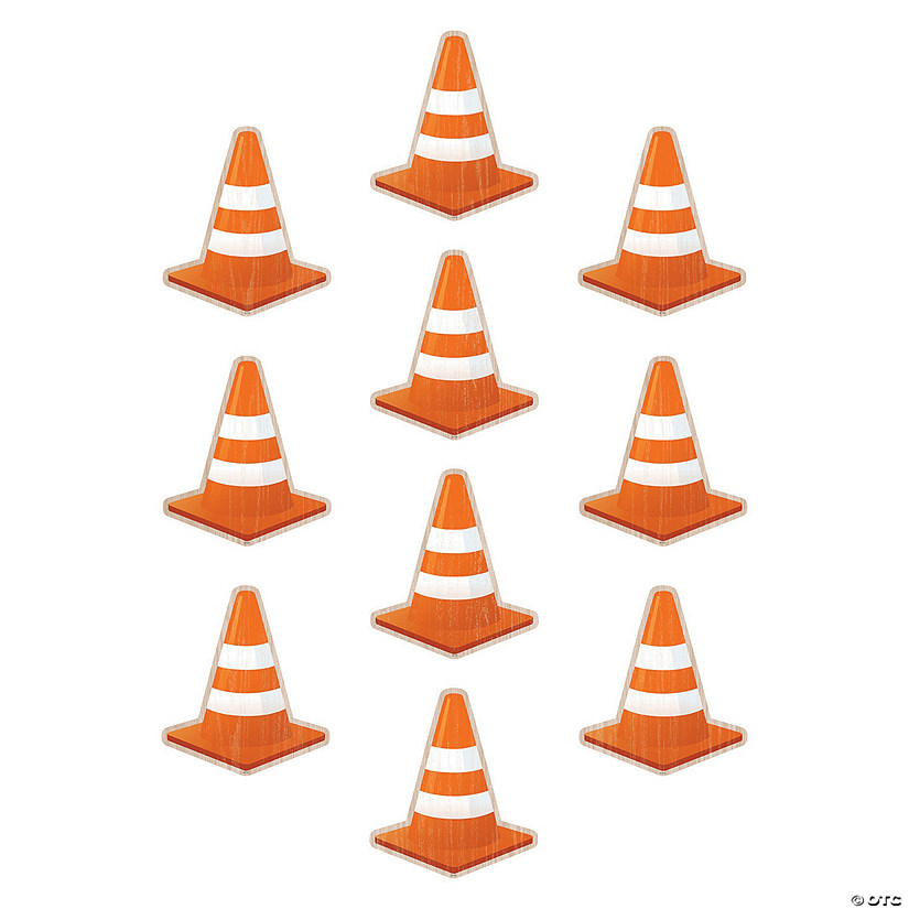 Under Construction Cones Bulletin Board Cutouts Audio Thumbnail
