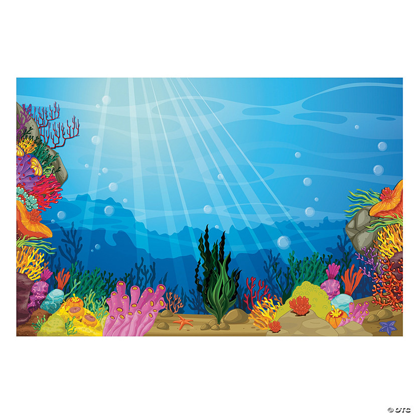 Under the Sea Backdrop Banner Audio Thumbnail