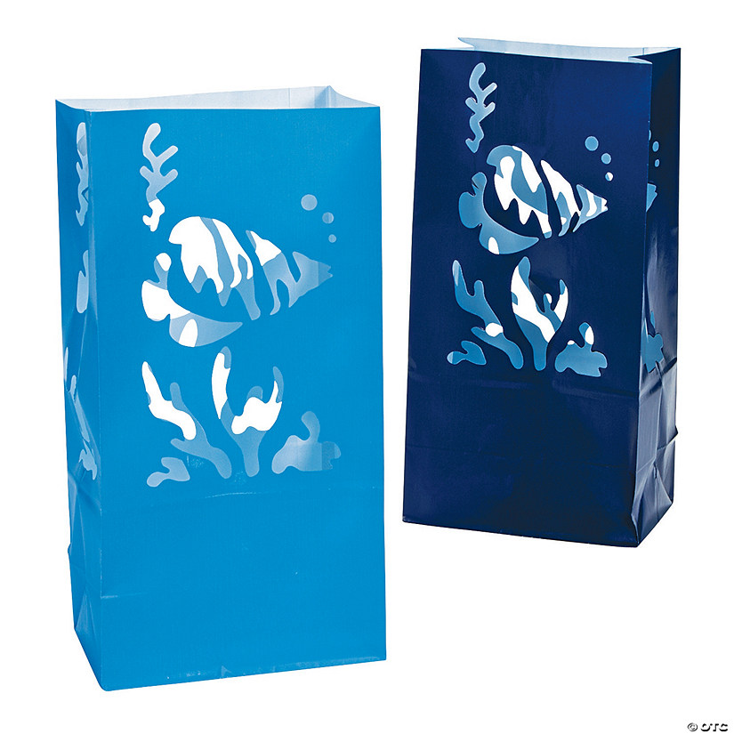 Under the Sea Luminary Bags