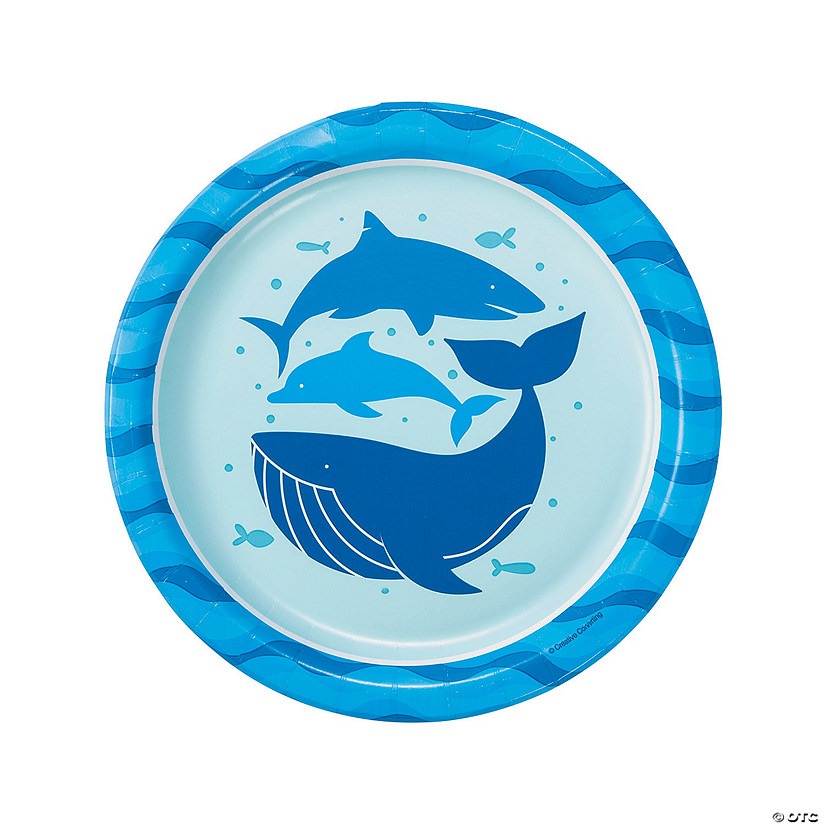 Under the Sea Paper Dinner Plates - 8 Ct. Audio Thumbnail