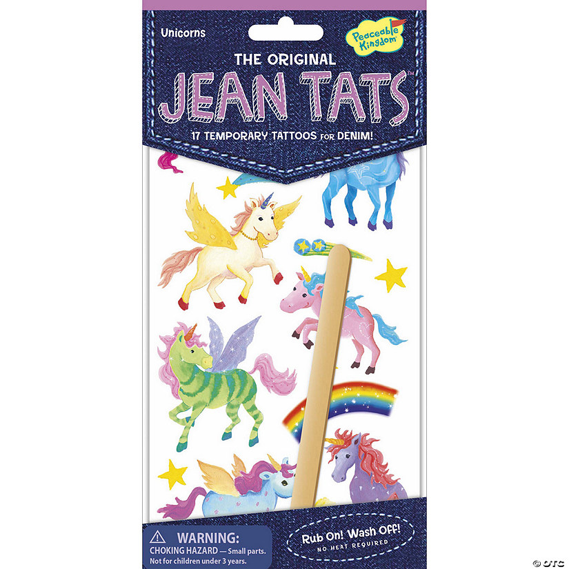 Unicorns Jean Tats Pack Image Thumbnail