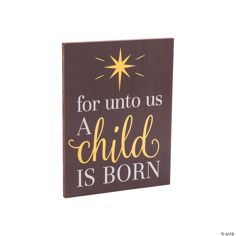 Unto Us A Child Is Born Sign Audio Thumbnail