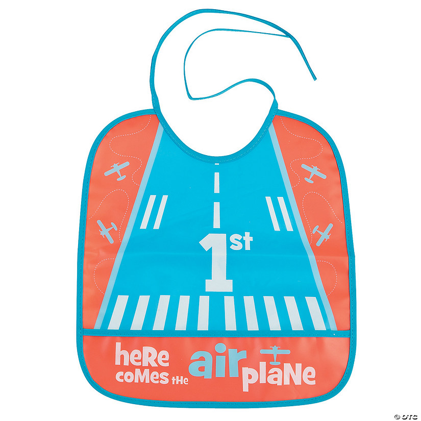 Up & Away Airplane Bib
