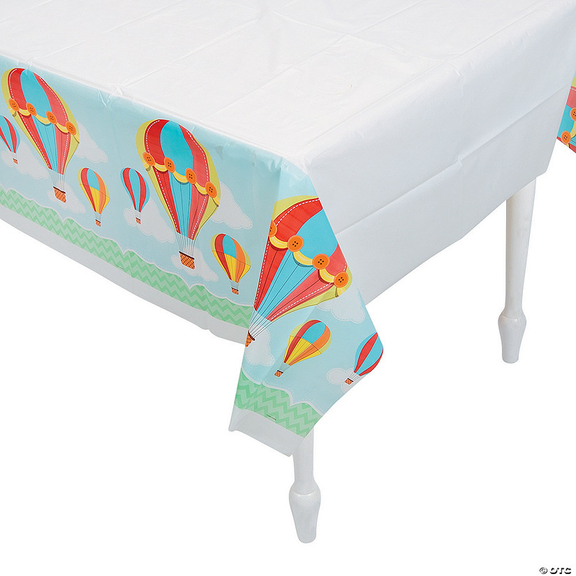 Up & Away Plastic Tablecloth