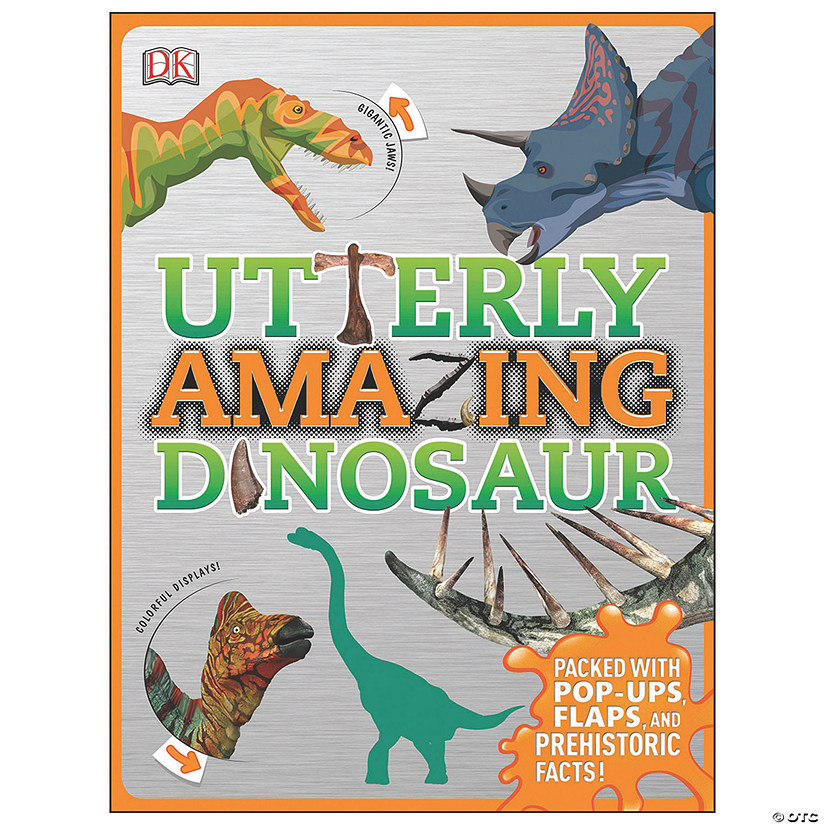 Utterly Amazing Dinosaur Book Image Thumbnail