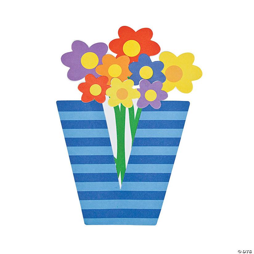 V Is For Vase Lowercase Letter V Craft Kit Discontinued