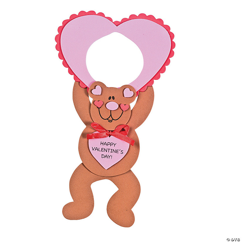 Valentine Bear Doorknob Hanger Craft Kit