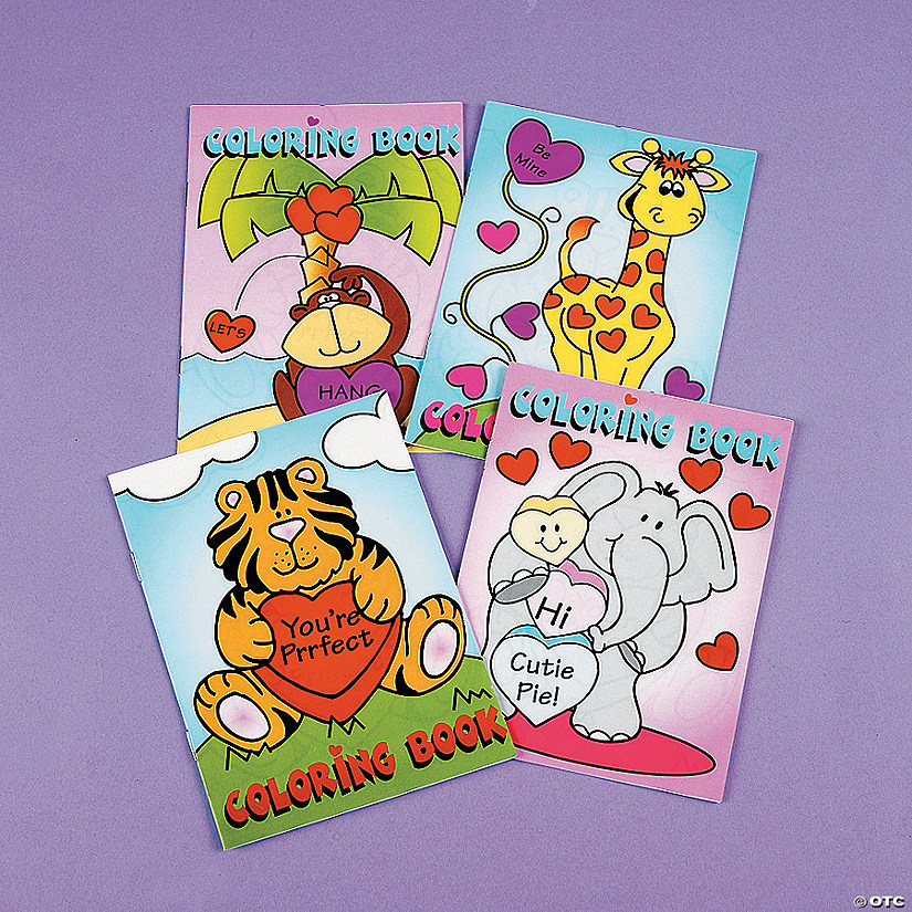 Valentine Coloring Books - Discontinued