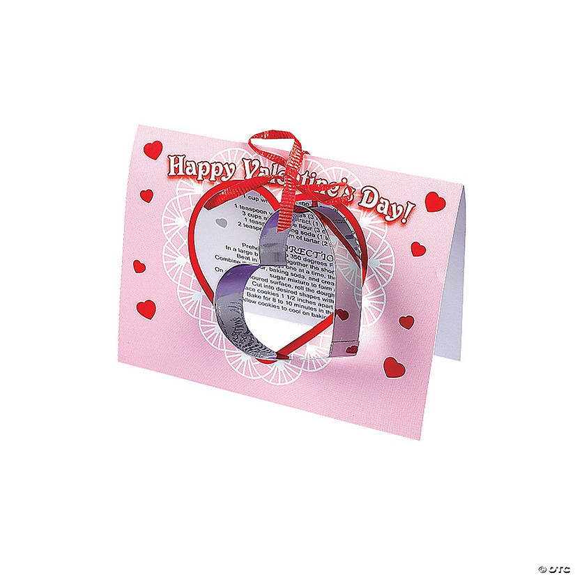Valentine Cookie Cutter Gift Cards Audio Thumbnail