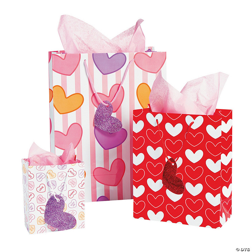 Valentine Gift Bags with Tags Assortment Audio Thumbnail