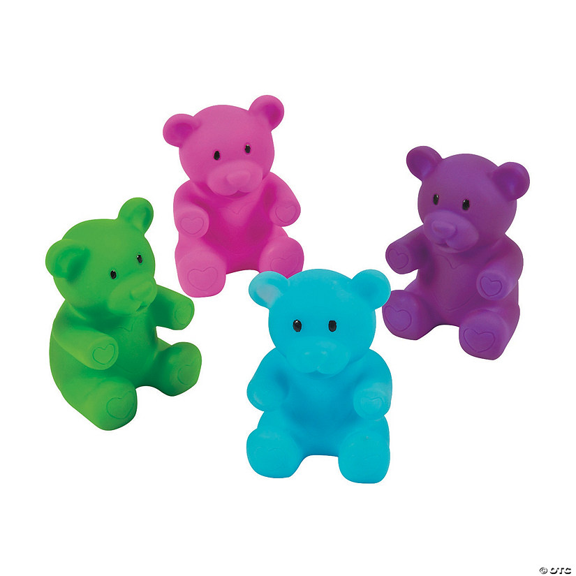 Valentine Gummy Teddy Bear Characters