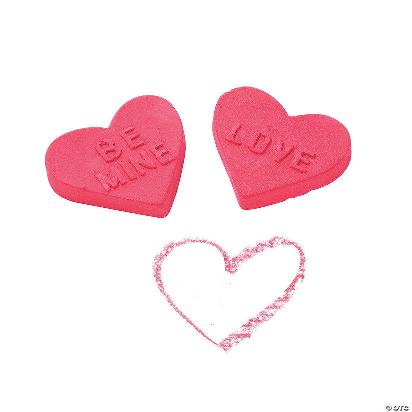 Valentine Heart-Shaped Chalk Image Thumbnail