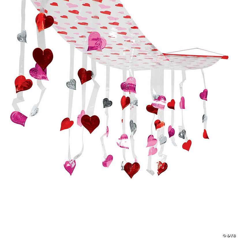 Valentine Hearts Ceiling Decoration