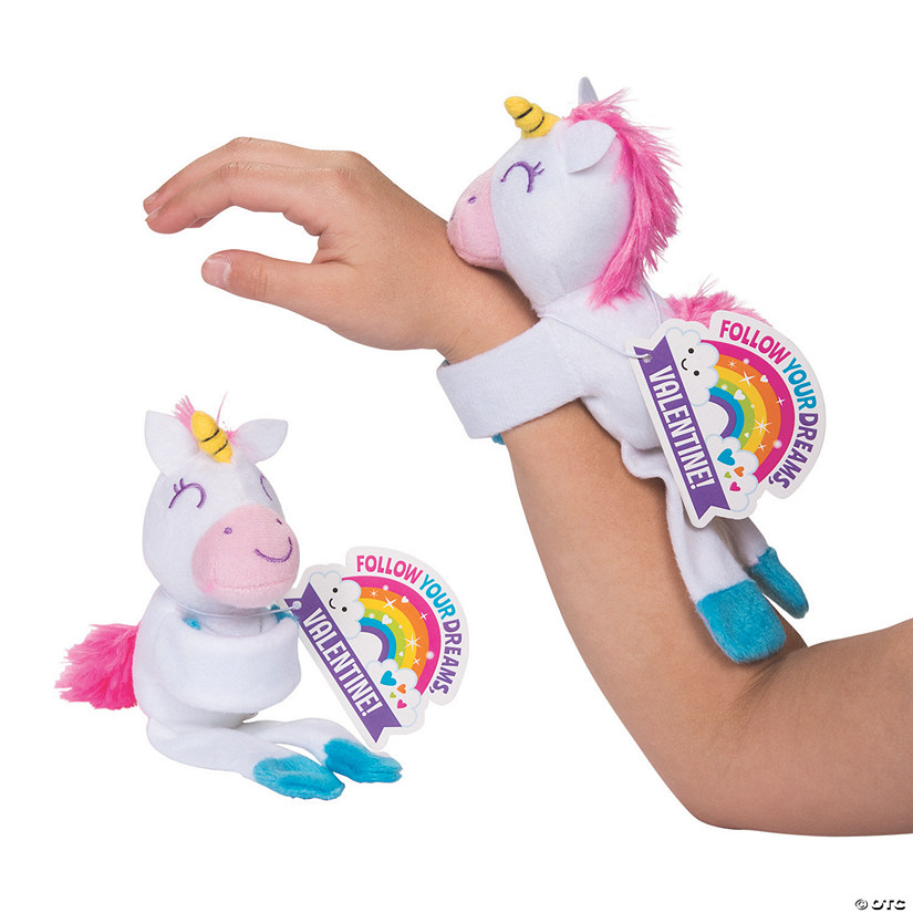 Valentine Hugging Stuffed Unicorns with Cards Audio Thumbnail