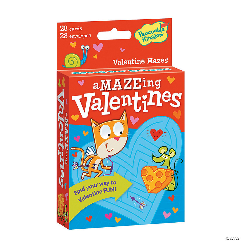 Valentine Mazes Card Pack