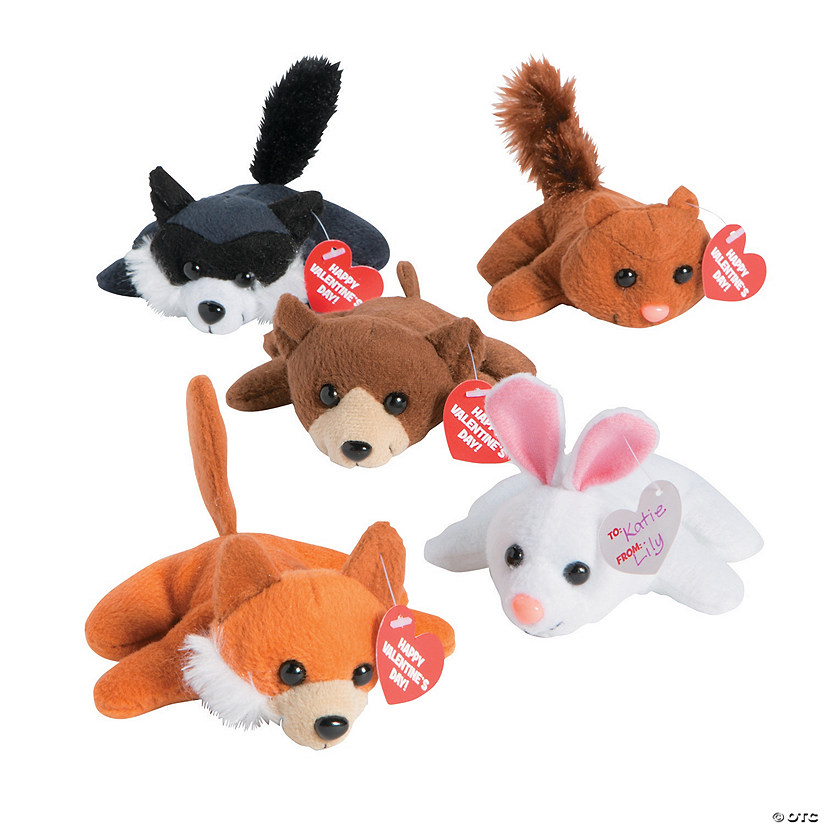 Valentine Mini Stuffed Animal Assortment