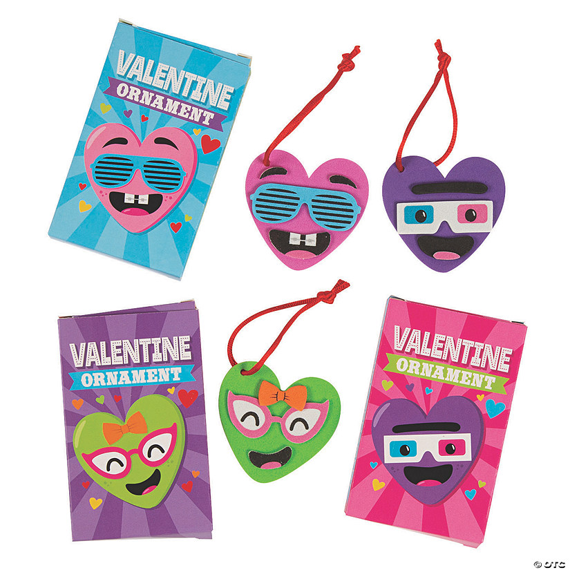 Valentine Ornament Giveaway Box Craft Kit Audio Thumbnail