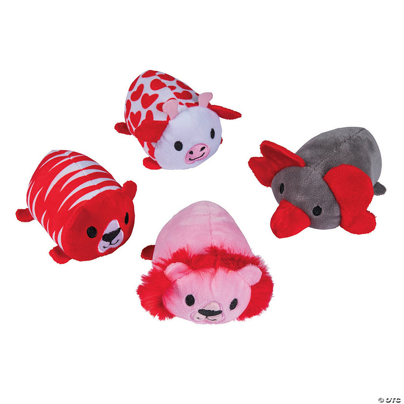 Valentine Roly-Poly Stuffed Animals Image Thumbnail