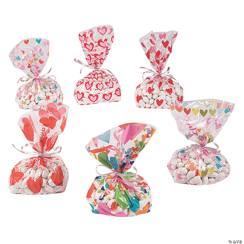 Valentine's Day Cellophane Bag Assortment