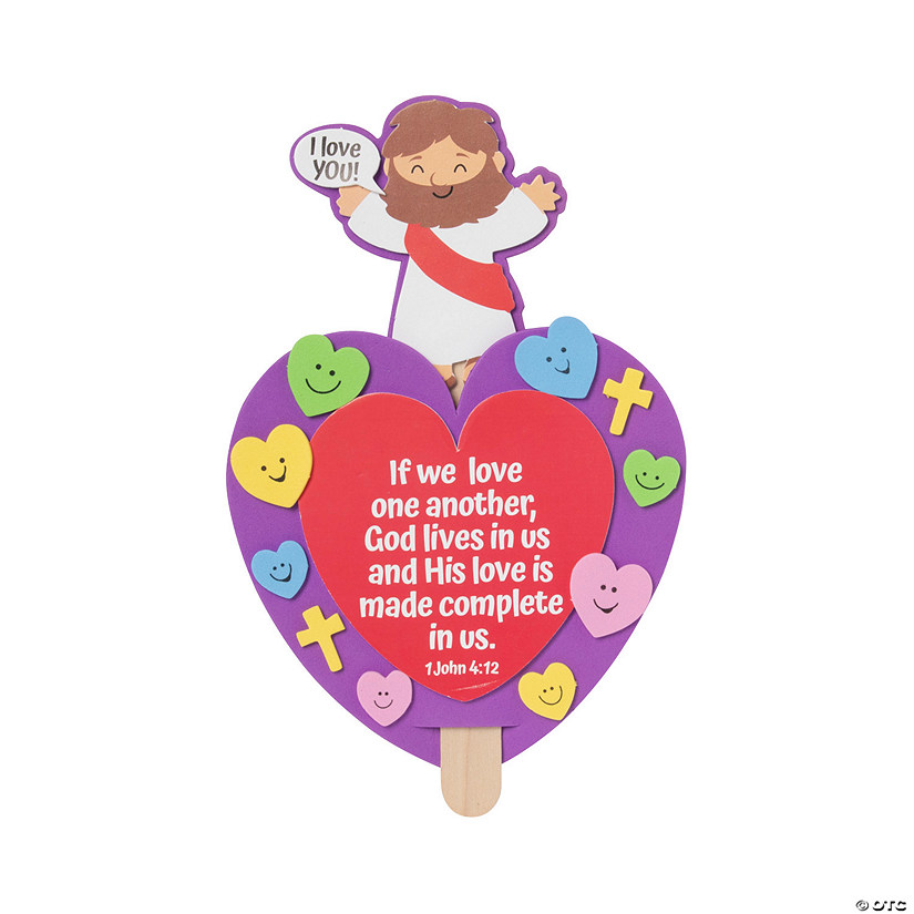 Valentine's Day Jesus Pop-Up Craft Kit