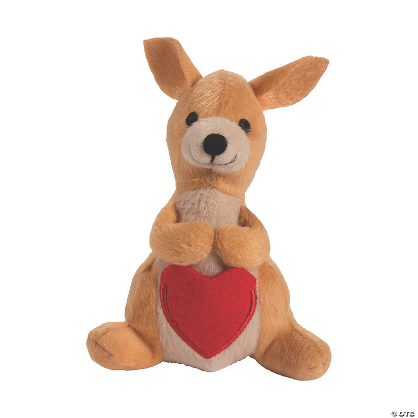 Valentine's Day Stuffed Kangaroos