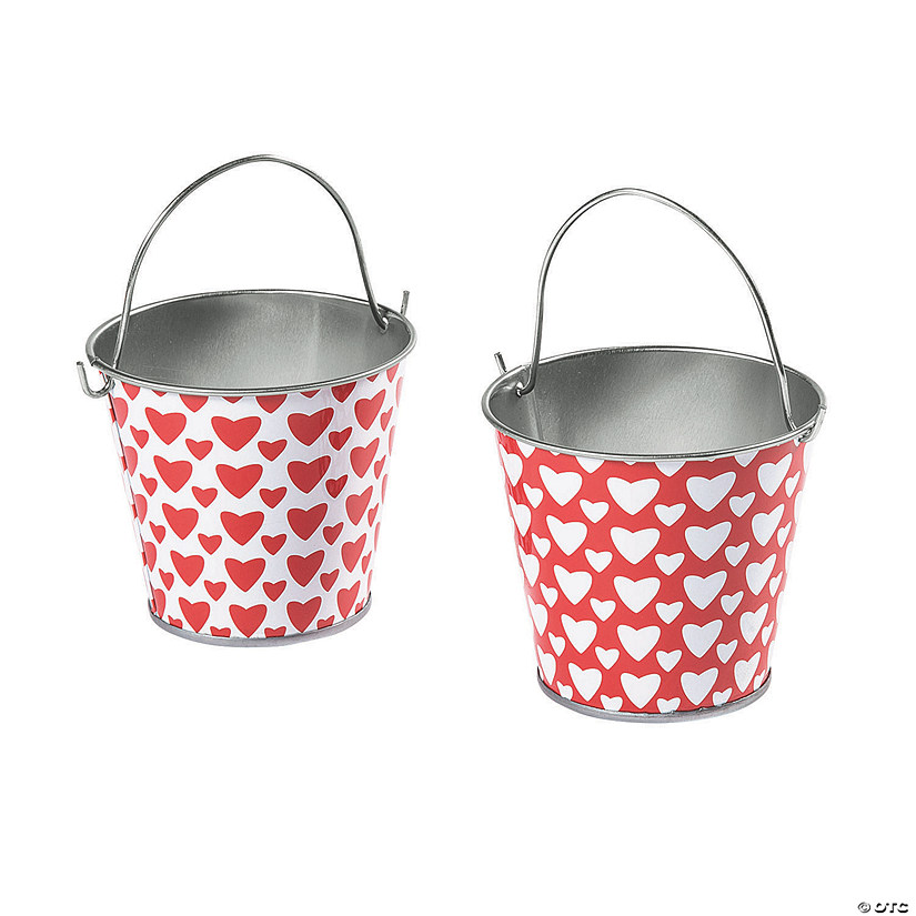 Valentine's Day Tinplate Favor Pails