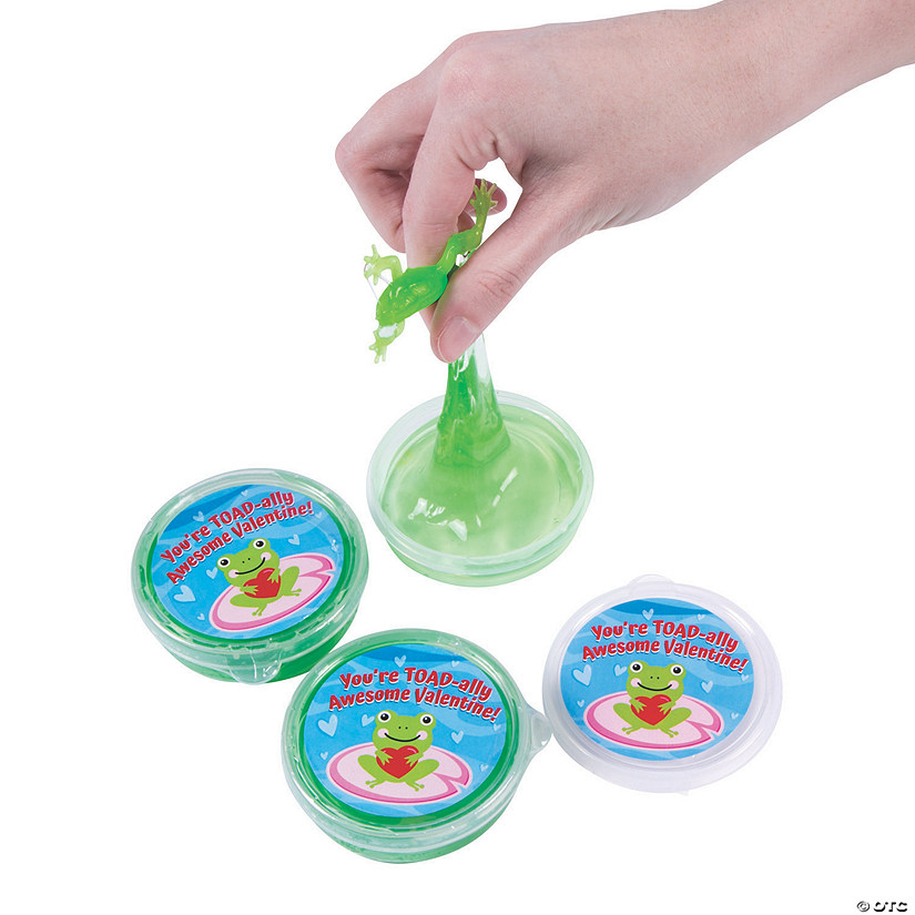 Valentine Toadally Awesome Slime Containers Audio Thumbnail